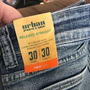 Men's Urban Pipeline Jeans (30x30)